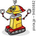 マンガ アンドロイド ロボットのイラスト 9480882