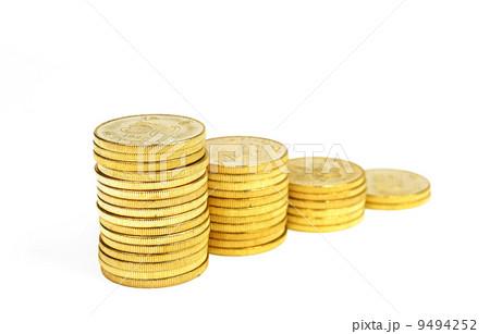 money coinsの写真素材 [9494252] - PIXTA