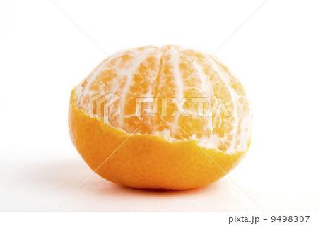 Partly Peeled Orangeの写真素材 [9498307] - PIXTA