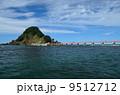 白山島 由良海岸 海の写真 9512712