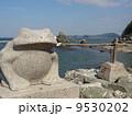 二見浦 二見興玉神社 カエルの写真 9530202