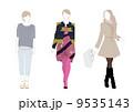女性ファッションモデル 9535143