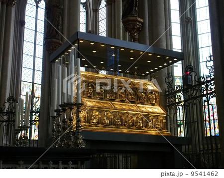 世界遺産 ドイツ ケルン大聖堂 東方三博士の聖遺物 9541462