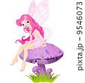 Fairy on the Mushroom 9546073