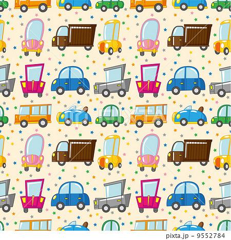 四輪車 自動車 壁紙のイラスト素材 9552784 Pixta