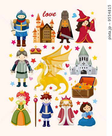 キング 王 王様のイラスト素材 9554815 Pixta