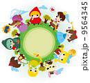 少年 女の子 男児のイラスト 9564345