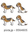 バリエーション ベクター 犬のイラスト 9564605