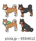 バリエーション ベクター 犬のイラスト 9564612