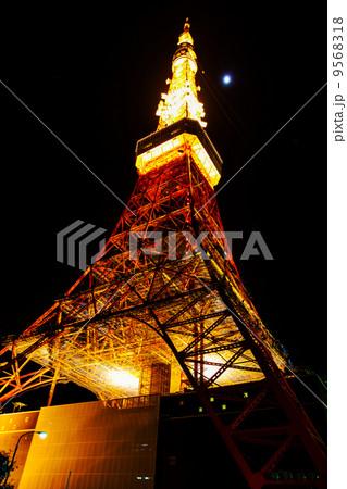 真夜中の東京タワー アップ 9568318