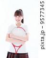 テニス 女性 人物の写真 9577345