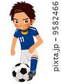 サッカー選手 9582466