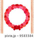 カーネーション フレーム 装飾のイラスト 9583384