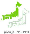日本地図 9593994