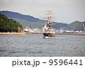観潮船 船 帆船の写真 9596441