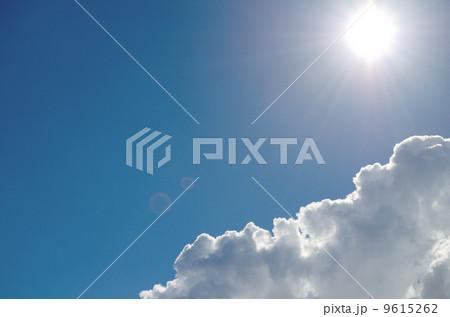 夏の空の雲 9615262