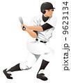 男性 野球 男のイラスト 9623134