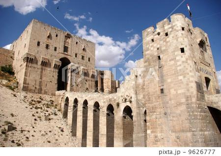シリアのアレッポ城 9626777