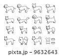 イヌのセット 9632643