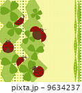 てんとう虫のバックグランド 9634237