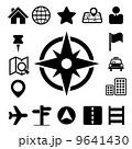 アイコン 検索 コンパスのイラスト 9641430