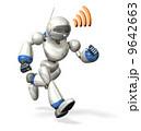 ロボット 通信 走るのイラスト 9642663