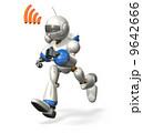ロボット 通信 走るのイラスト 9642666