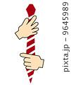 ネクタイを結ぶ 9645989