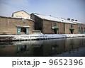 倉庫街 小樽運河 小樽の写真 9652396
