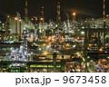 夜の工場 9673458