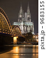 Dom in Cologne at sunset 9683155