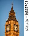 建築 掛け時計 黄金の写真 9685703