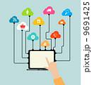 コンピューティング エレクトロニック デバイスのイラスト 9691425