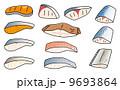 魚の切身 9693864