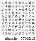 アイコン ガーデン 花のイラスト 9700212