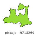 青森県 青森 県のイラスト 9718269