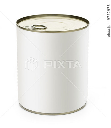 Can with blankの写真素材 [9722978] - PIXTA