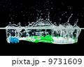 磨く 歯ブラシ 水分の写真 9731609