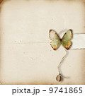 Textured background with butterfly 9741865