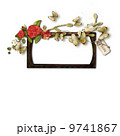 Frame for a photo decorated with flowers 9741867
