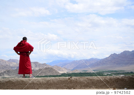 チベット仏教僧 9742502