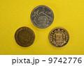 スペイン国章とフランシスコ、フランコの肖像 9742776
