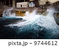 青ヶ島 波 港の写真 9744612