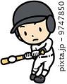 バッティング ベクター スポーツのイラスト 9747850