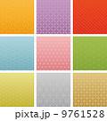 和風 カラフル 広告背景 9種 9761528