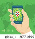 携帯電話 スマートフォン アプリのイラスト 9771699