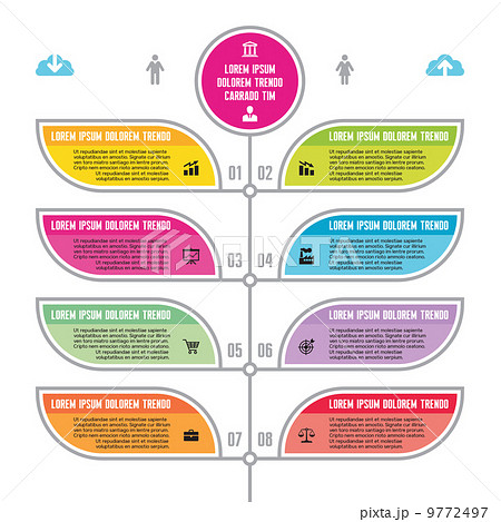 infographic business concept for presentation advertising materials