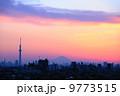 夕焼け 東京スカイツリー 夕方の写真 9773515