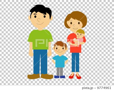 4人家族 9774961