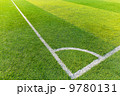 Corner of a synthetic football field 9780131